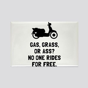 Scooter Gas Grass Ass Magnets