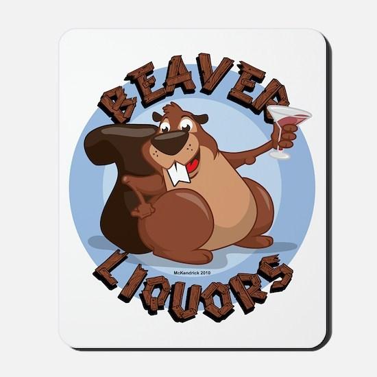 Beaver-Liqours Mousepad