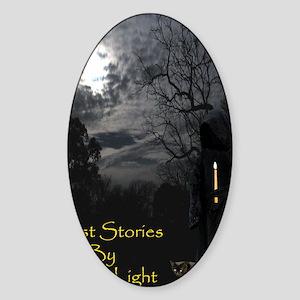 GhostStorySmallPoster Sticker (Oval)