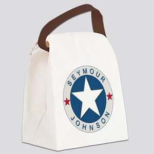 Seymour J_lone star boxer4x6 Canvas Lunch Bag