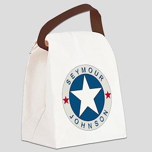 Seymour J_lone star boxer4x6 Canvas Lunch Bag