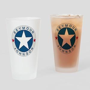 Seymour J_lone star boxer4x6 Drinking Glass