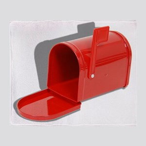 MailboxOpen051409shadows Throw Blanket