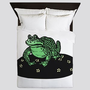 Frog On Lillypad Queen Duvet