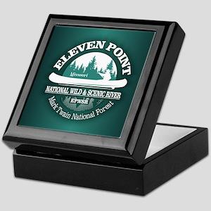 Eleven Point River Keepsake Box