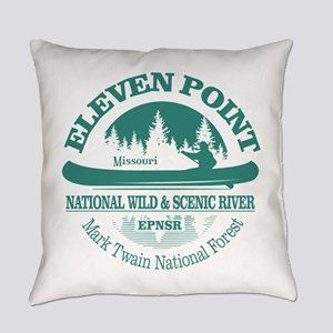 Eleven Point River Everyday Pillow
