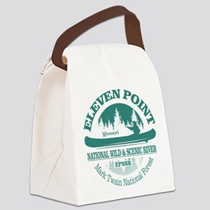 Eleven Point River Canvas Lunch Bag