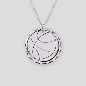 j0357921_CRIMSON Necklace Circle Charm