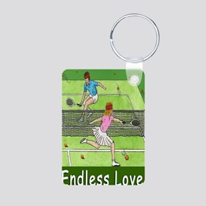 ENDLESS LOVE greeting card Aluminum Photo Keychain