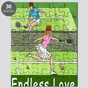 ENDLESS LOVE greeting card Puzzle