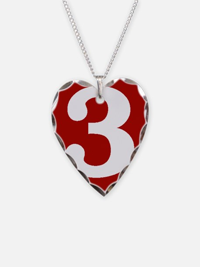 Happy Third Anniversary Necklace