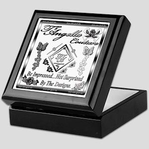 Blk Wht 10 x10 copy Keepsake Box