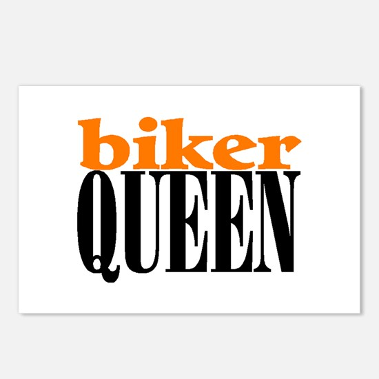 BIKER QUEEN Postcards (Package of 8)