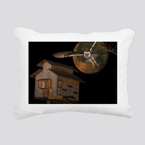 McGeeMoonPoster Rectangular Canvas Pillow