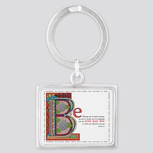 2-bstrongfinalcolor Landscape Keychain