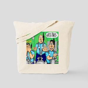 CHECK AIRMAN Tote Bag