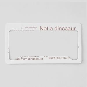Edaphosaurus_NotADinosaur License Plate Holder
