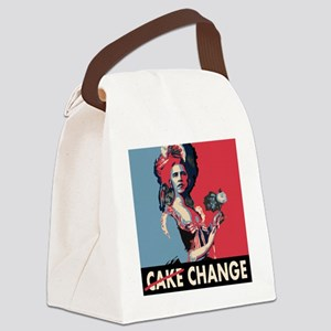 Cake change square MA Canvas Lunch Bag