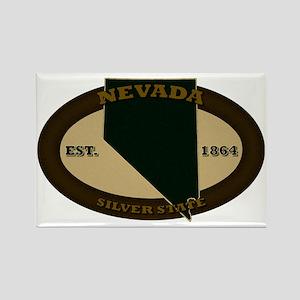 Nevada Est 1864 Rectangle Magnet