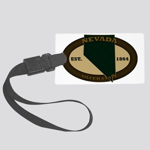 Nevada Est 1864 Large Luggage Tag