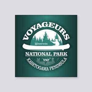 Voyageurs NP (Canoe) Sticker