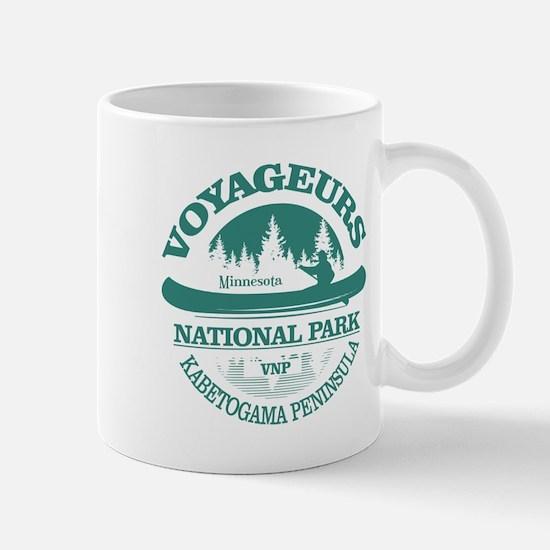 Voyageurs NP (Canoe) Mugs
