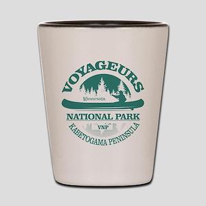 Voyageurs NP (Canoe) Shot Glass