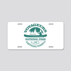 Voyageurs NP (Canoe) Aluminum License Plate