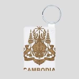 Cambodia1 Aluminum Photo Keychain