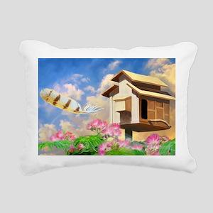 MagicFeather_LargePoster Rectangular Canvas Pillow