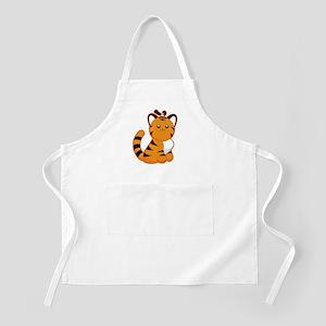 Tiger-magpie Apron