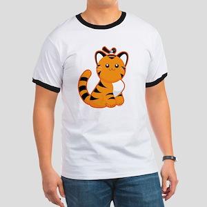 Tiger-magpie Ringer T