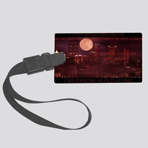 citynightsPOSTERDS Large Luggage Tag