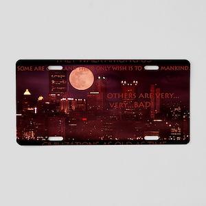 citynightsPOSTERDS Aluminum License Plate