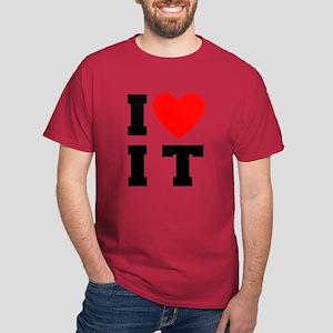I Luv It Heart Dark T-Shirt