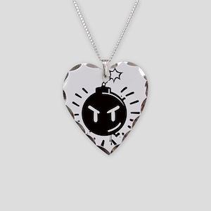 sex_bob-omb Necklace Heart Charm