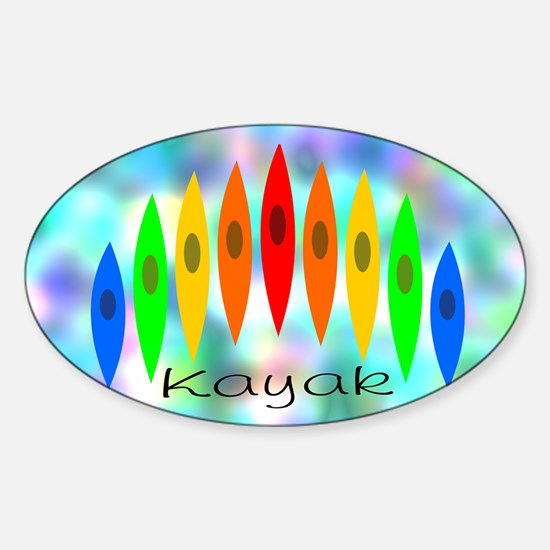 Tintedrainbow Sticker (Oval)