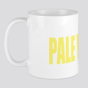 think-PALE-YELLOW-Spina-Bifida-blk Mug