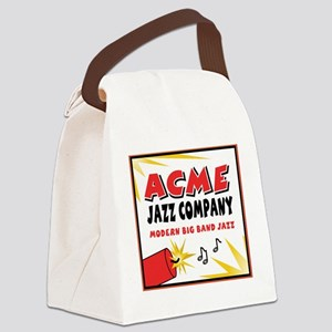 ACME rectangle Canvas Lunch Bag