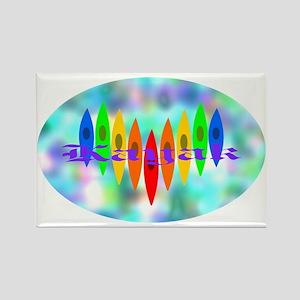 2-Tintedheartoval Rectangle Magnet