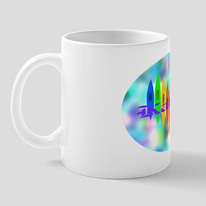 2-Tintedheartoval Mug
