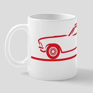 69_Mustang_Fastback_red Mug