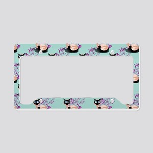Wide Eyed Siamese License Plate Holder