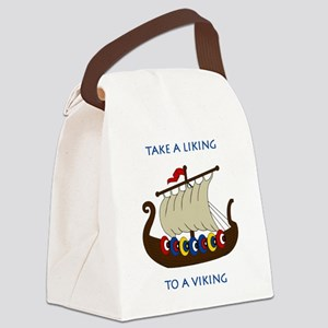 Liking2 Canvas Lunch Bag