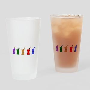 PharmD Proud Parent Drinking Glass