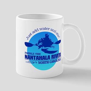 Nantahala River (Blue) Mugs