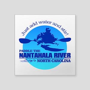 Nantahala River (Blue) Sticker