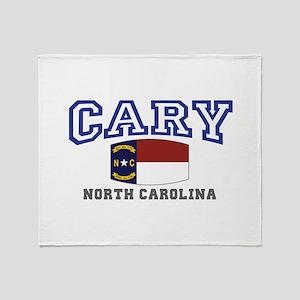 Cary, North Carolina, NC, USA Throw Blanket