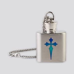 cross Flask Necklace