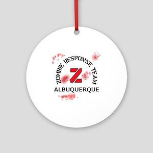 Zombie Response Team Albuquerque Round Ornament